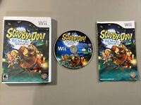 Scooby-Doo and the Spooky Swamp (Nintendo Wii Game 2010) Complete With Manual!