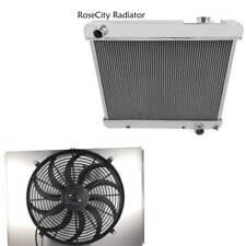 "Olds F85 Aluminum 4 Row Champion Radiator, Shroud & 16"" Fan, MC284"