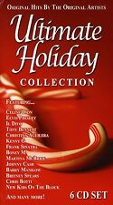 Ultimate Holiday Collection (CD 6 disc) Christmas Hits by Original Artists NEW