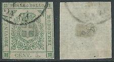 1859 DUCATO DI MODENA GOVERNO PROVVISORIO USATO 5 CENT - AS1