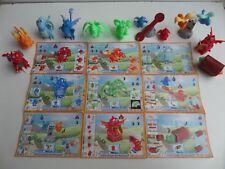 6 BPZ Lot série complète Kinder 6 chasseurs de taches série TT France 2007