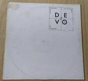 """DEVO Satisfaction / Sloppy BOOJI BOY / STIFF RECORDS 12"""" VINYL BOY 1 single"""