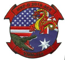 USMC VMM-268 MRF-D ACE- AUSTRALIAN SQUADRON PATCH- WITH VELCO NEW!!!