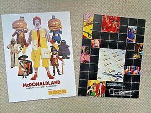 McDonald's Character Costume EDER Catalog