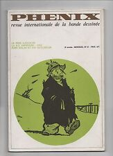 Phénix n°21 - revue internationale de la BD. 1972. TB