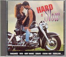 CD ALBUM HARD & SLOW FOREIGNER TOTO STATUS QUO  DEEP PURPLE (MOTO)