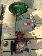 FISHER TYPE ET 1.5 INCH  CLASS 300 667 ACTUATED VALVE