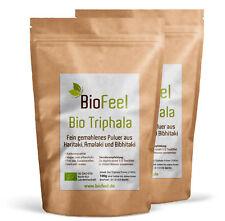BioFeel - Bio Triphala Pulver, 200g - Dreifrucht