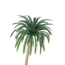 15pcs Palm Trees Very Helpful Props For Model Train Track Building Kid Toy K5T1
