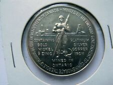 1867-1967 Confederation Mined in Ontario Token Coin Medallion
