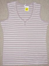 Marks and Spencer Striped Sleeveless Tops & Shirts for Women