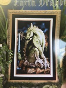 Earth Dragon Counted Cross Stitch Chart Pattern Rare Cross My Heart Can-237