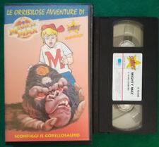 VHS FILM Ita Animazione MIGHTY MAX Sconfiggi Il Gorillosauro STARDUST (V118)