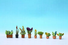 Noch 14011 - Pre-Painted Plants in Pots Scenic Item 1/87th = 'H0' Gauge 1st Post