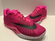 NIKE HYPERLIVE PAUL GEORGE PLAYER EXCLUSIVE PINK BREAST CANCER KAY YOW sz 12