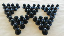 *CLEARANCE* Chef Jacket Buttons, Black, 50 pieces, Bulk Buy, FREE SHIPPING