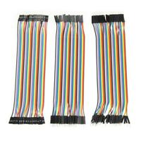 120pcs 20cm 2.54mm 1pin Jumper Wire DuPont Cable for Arduino #Z