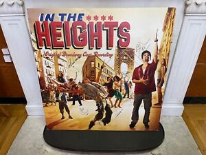 HEIGHTSTRAVAGANZA: In The Heights HUGE foam-core Album Cover poster AUTOGRAPHED