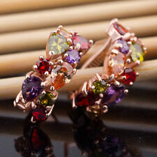 Fashion Cute Women Lady Elegant Crystal Rhinestone Ear Stud Earrings Hot Jewelry
