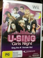 U-sing girls night wii