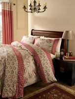 Catherine Lansfield Kashmir Multi Easy Care Duvet Cover Set S/D/K & Accessories
