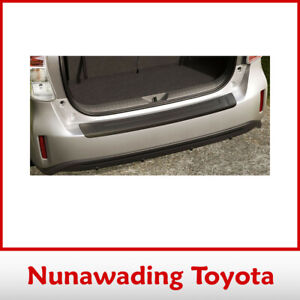 NEW GENUINE TOYOTA PRIUS V + ITECH REAR BUMPER PROTECTOR MAR 2012 ON