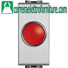 BTICINO LIVINGLIGHT tech portalampada spia rosso NT4371R