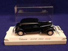 Solido Age D'or 1952 Citroën 15 Cv # 4102 1/43 EXC COND in CASE - SEE PICS