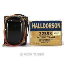 NOS NIB Halldorson 22S93 Output Transformer 9500 ohmCT 25 Watts Tube Amps