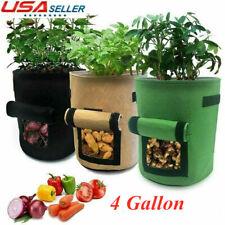 4 Gallon Potato Planting Bag Pot Planter Vegetable Container Growing Garden
