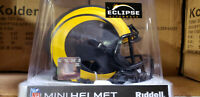 LOS ANGELES RAMS 2020 NEW STYLE ECLIPSE REPLICA MINI HELMET NFL RIDDELL