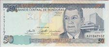 HONDURAS BANKNOTE P94c 50 LEMPIRAS 2006 UNCIRCULATED USA SELLER