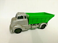 E** 1960's Old shop stock Tudor Rose Plastic polythene dumper truck lorry GREEN