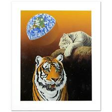 "William Schimmel! ""Our Home Too III (Tigers)"" Ltd Ed Serigraph Hand signed"