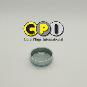 28mm Cup type core plug - CR4 Zinc Plating - British Steel BS1449