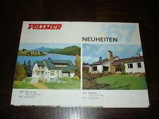 DEPLIANT VOLLMER 1967 Neuheiten - Trains électriques