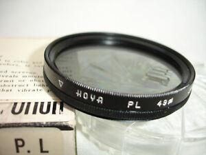 HOYA 49mm PL filter with case,  polarizer, polarizing