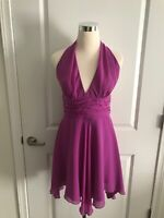 abs allen schwartz Magenta Marilyn Cocktail Dress Size 6