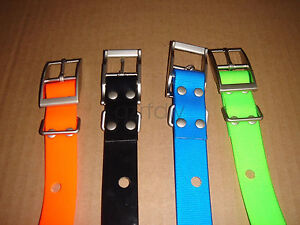 Lot of to 4 Color Belt rugged and waterproof  For GARMIN DC40 GPS dog tracking