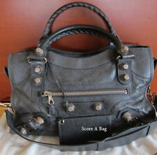 SOLD AUTH Balenciaga City with G21 SHW in Anthracite