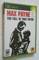Microsoft XBOX Rockstar Games MAX PAYNE 2: THE FALL OF Brand New Unopened