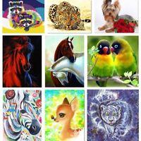 5D Diamond Painting Embroidery Cross Crafts Stitch Kit Home Art Decor DIY Animal