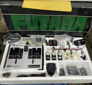 Vintage Futaba FP-5JN Classic 72MHz AM System...Rare Find in New Conditions...