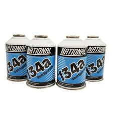 R134a National Auto A/C Air Conditioning Refrigerant Freon Gas (4) 12oz Can USA