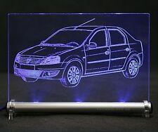 Dacia Logan AutoGravur auf LED-Schild - NP 200 Aprio