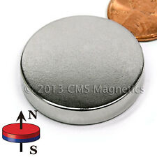 "N45 Neodymium Magnets Dia 1 1/4"" x 1/8"" NdFeB Rare Earth Disk Magnets 4 PC"