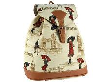 Signare Ladies Tapestry Rucksack / Backpack / Fashion Bag In Miss London Design