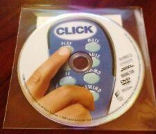 $5 DVD'S - Click Adam Sandler 2006 NO ART CLEAR CASE DIRECT FROM STUDIO