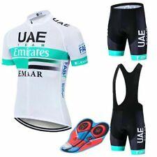 UAE 2020 BIKE CICLISMO MTB BIKE COMPLETO MAGLIA SALOPETTE FONDELLO GEL