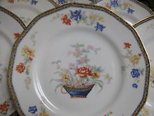 HAVILAND LIMOGES GANGA (c.1920-1936) DINNER PLATE(s)- PILGRIM SHAPE! MINT! GILT!